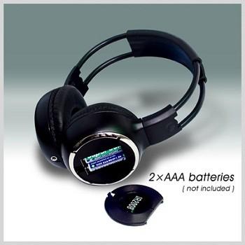 WL-2008-A- ABchannel Wireless Headphone