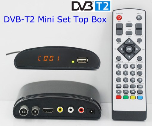 mini Digital TV receiver Set Top Box Home HDTV HDMI USB 6