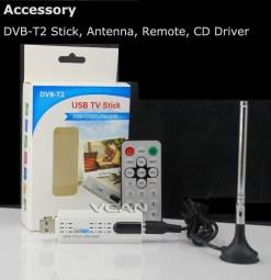 USB DVB-T2 PC DTV receiver DVB-T2 DVB-T DVB-C SDR FM DAB TV stick DVB-T2U, change your PC to DTV 8
