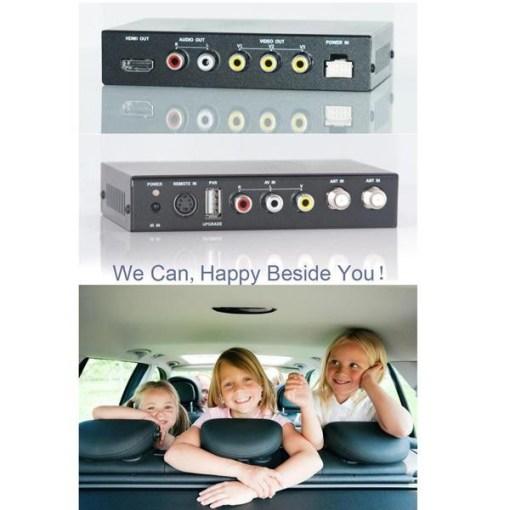 DVB-T2100HD Car DVB-T MPEG4 H.264 2 tuner Digital TV receiver 2 tuner 2 antenna 3