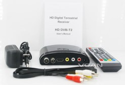 mini Digital TV receiver Set Top Box Home HDTV HDMI USB 7