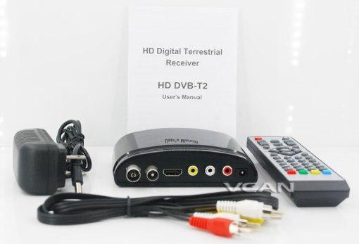 mini Digital TV receiver Set Top Box Home HDTV HDMI USB 1