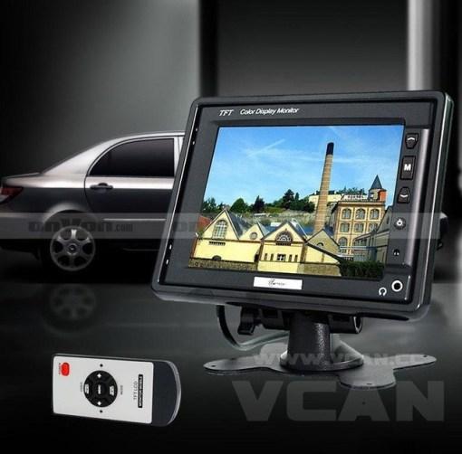 TM-564A 5.6 inch TFT Headrest Stand alone car monitor bracket 2