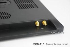 2 tuner 2 antenna isdb-t digital tv receiver 10.1 inch full segment digital TV receiver for Japan mini b-cas card reader high speed moving 17