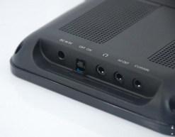 7 inch handheld HD wireless COFDM receiver portable 20