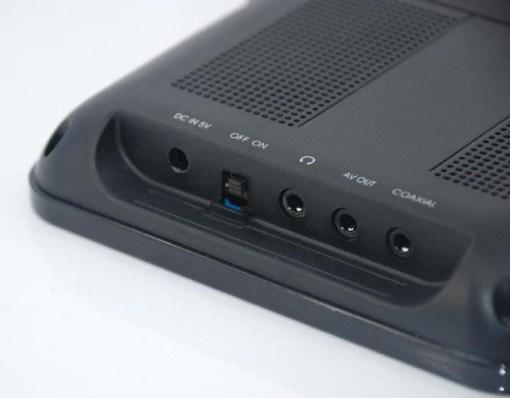 7 inch handheld HD wireless COFDM receiver portable 10