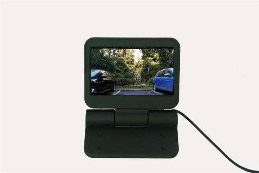 VCAN0998 Auto Electric flip 4.3 monitor LCD Color Car Monitor 1