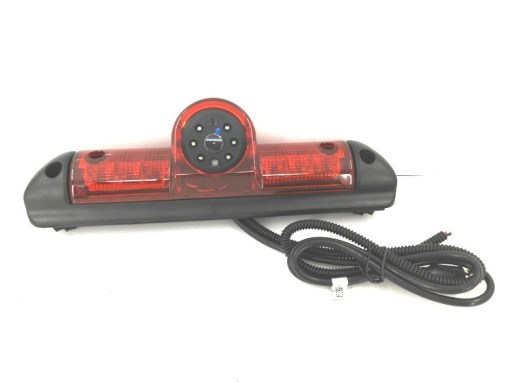Waterproof CCD brake light camera for FIAT Ducato with audio night vison IR led VCAN1338 1