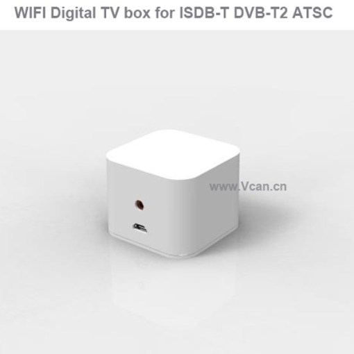 WIFI ISDB-T DVB-T2 Wireless Digital TV box for Android phone or Pad for Car outdoor Home 1