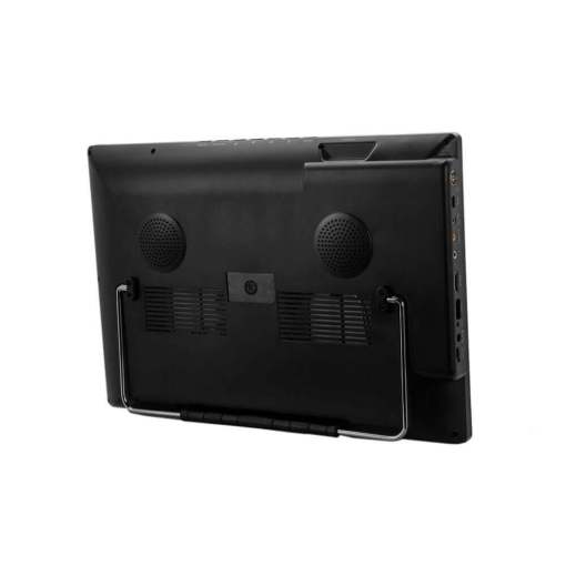 portable isdb-t receiver with 14 inch monitor