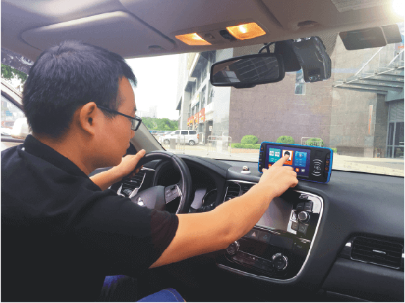 android taxi mobile data terminal