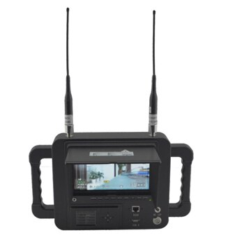 7 Inch COFDM wireless receiver HD LCD Monitor Video Receiver Sun Shade for transmitter transmission system 1