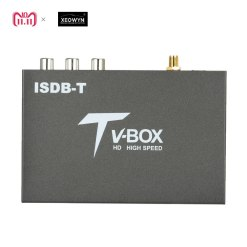 single antenna Car ISDB-T Digital TV Box HD fullSeg Receiver Mobile Digital TV Receiver for Brazil Chile Peru 8