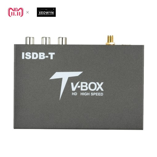 single antenna Car ISDB-T Digital TV Box HD fullSeg Receiver Mobile Digital TV Receiver for Brazil Chile Peru 2