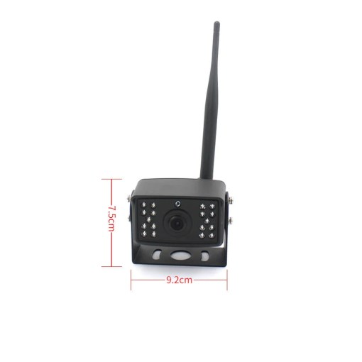 7 inch quad monitor wireless camera DVR for auto mobile truck Vehicle screen rear view monitor reverse backup recorder wifi camera 10