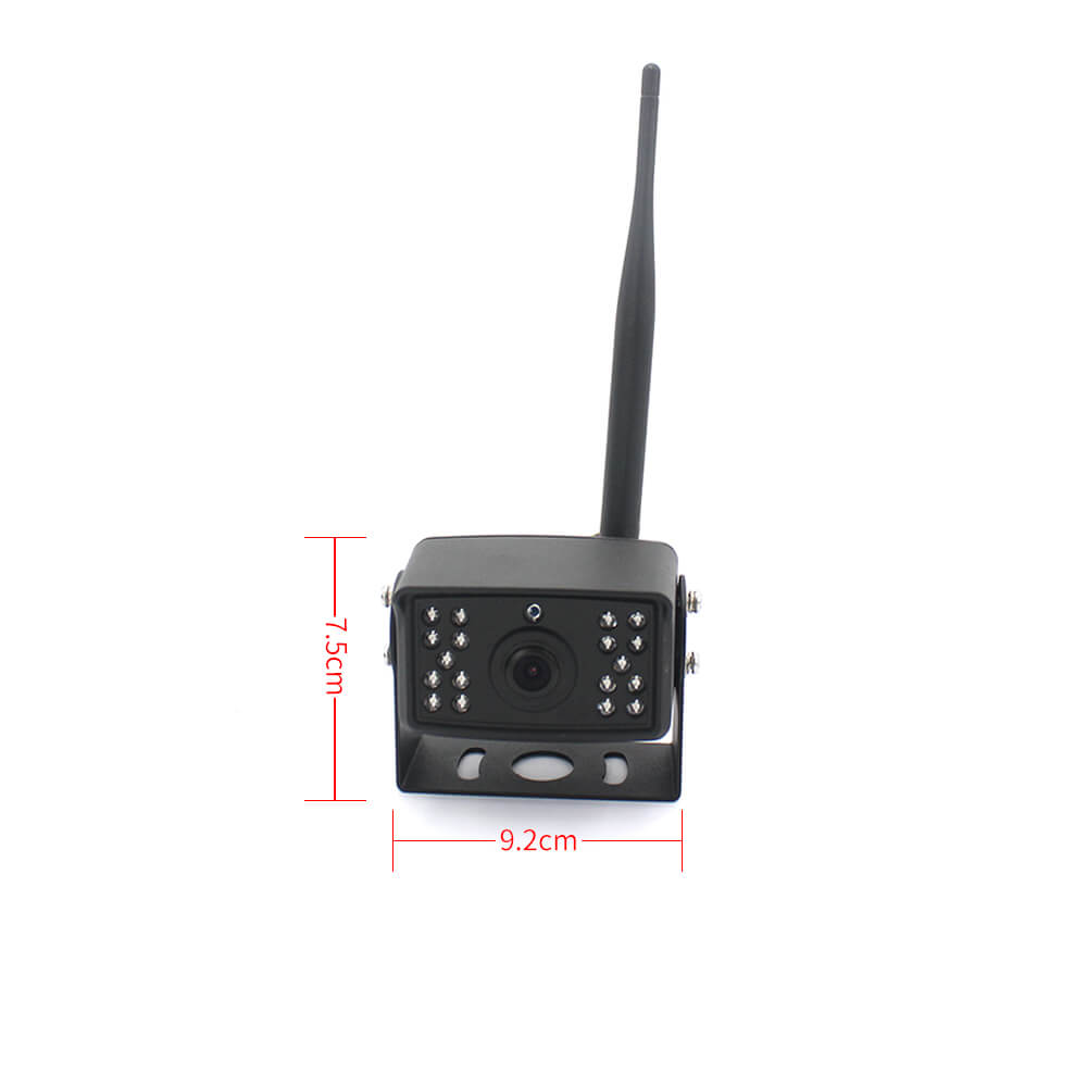 7 inch quad monitor wireless camera DVR for auto mobile truck Vehicle screen rear view monitor reverse backup recorder wifi camera 34