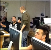 IVCC Photoshop class with Ted Parisot