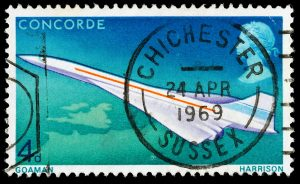 Britain Concorde Postage Stamp