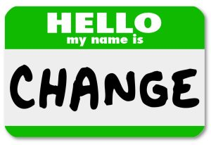 Nametag Hello My Name is Change Label Sticker