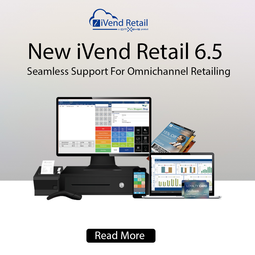 New iVend Retail 6.5
