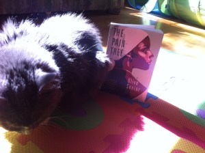 Smokey pondering the serious subjects addressed in this book