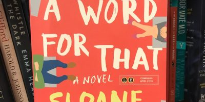 Book cover of There's a Word For That by Sloane Tanen