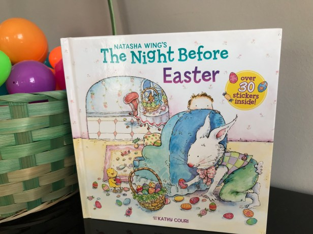 cover image of The Night Before Easter by Natasha Wing