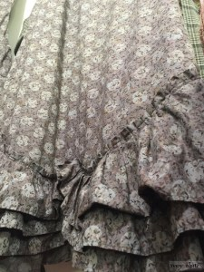 Anabel Frock in flock and moon cotton voile by Ivey Abitz