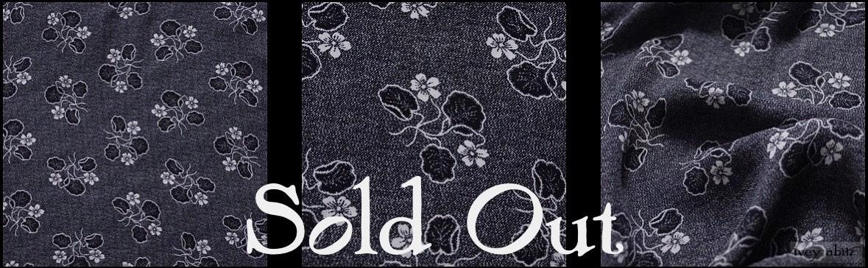 Black Edwardian Floral Silk from Ivey Abitz
