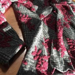 Ivey Abitz Fairholme Jacket in Plaid Floral Boiled Wool