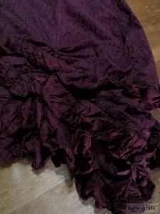 Ivey Abitz Fennefleur Frock in Garment Textured Striped Silk
