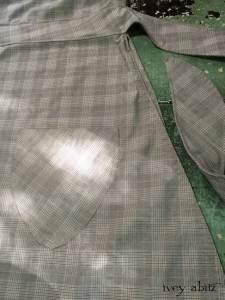 Dennison Frock in Brownstone Banister Glen Plaid Cotton by Ivey Abitz