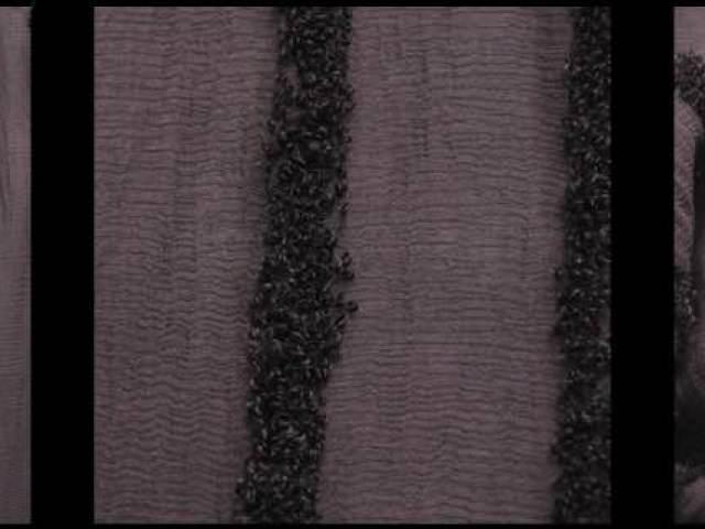 Brownstone Banister Embroidered Silk Chiffon