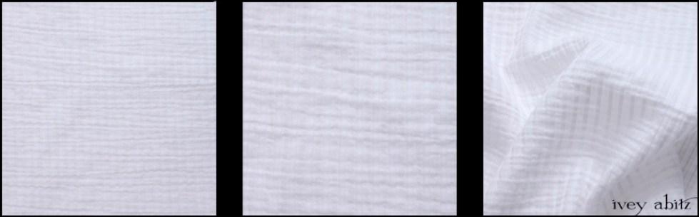Clapboard White Wainscot Weave