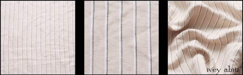 Devon Cream Pinstripe Weave