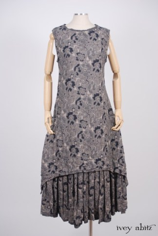 IA101 Limited Edition Blanchefleur Frock in Lakeland Floral Weave 1