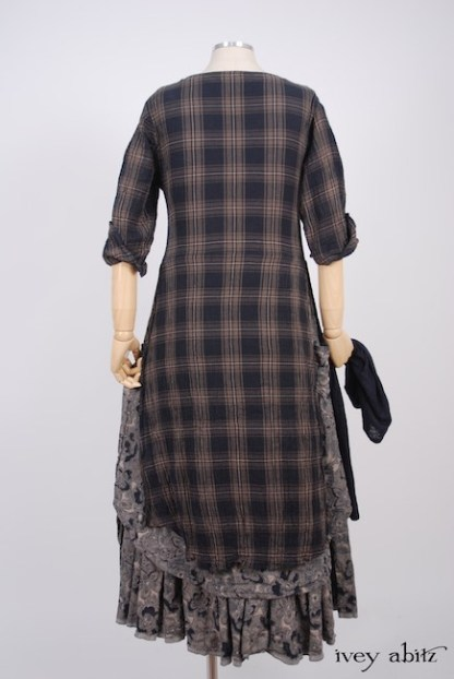 IA101 Dennison Dress in Lakeland Plaid Cotton Voile