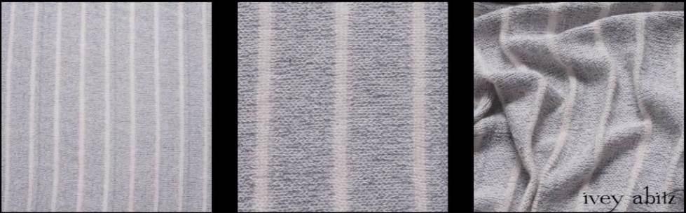 Morning Sky Soft Striped Knit