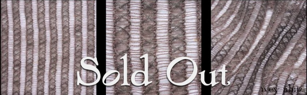 Treetop Striped Mohair Lace