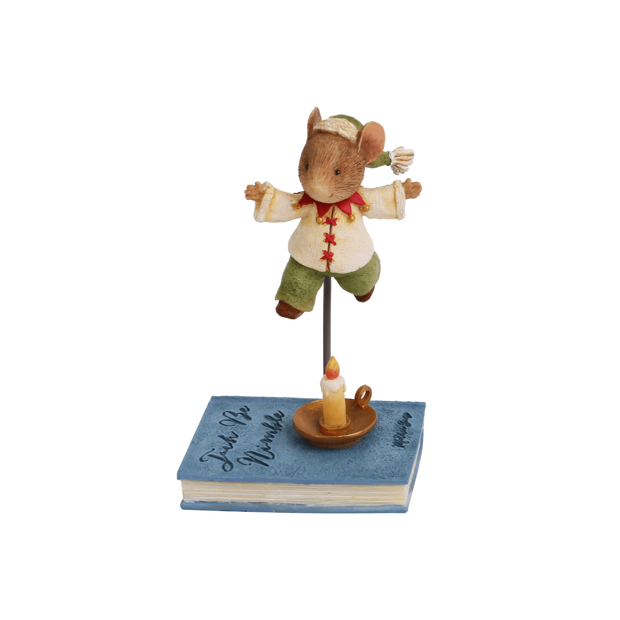 Tails With Heart Jack Be Nimble Mouse Figurine