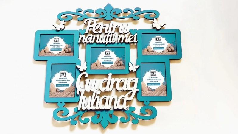 Rama Foto Pentru Nanutii Mei turquoise
