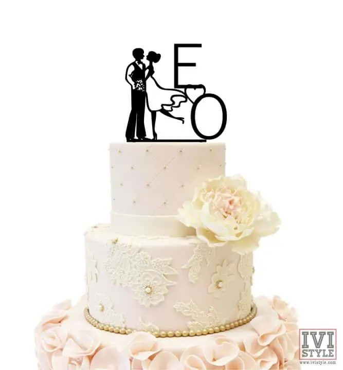 Cake Topper pentru Nunta 03
