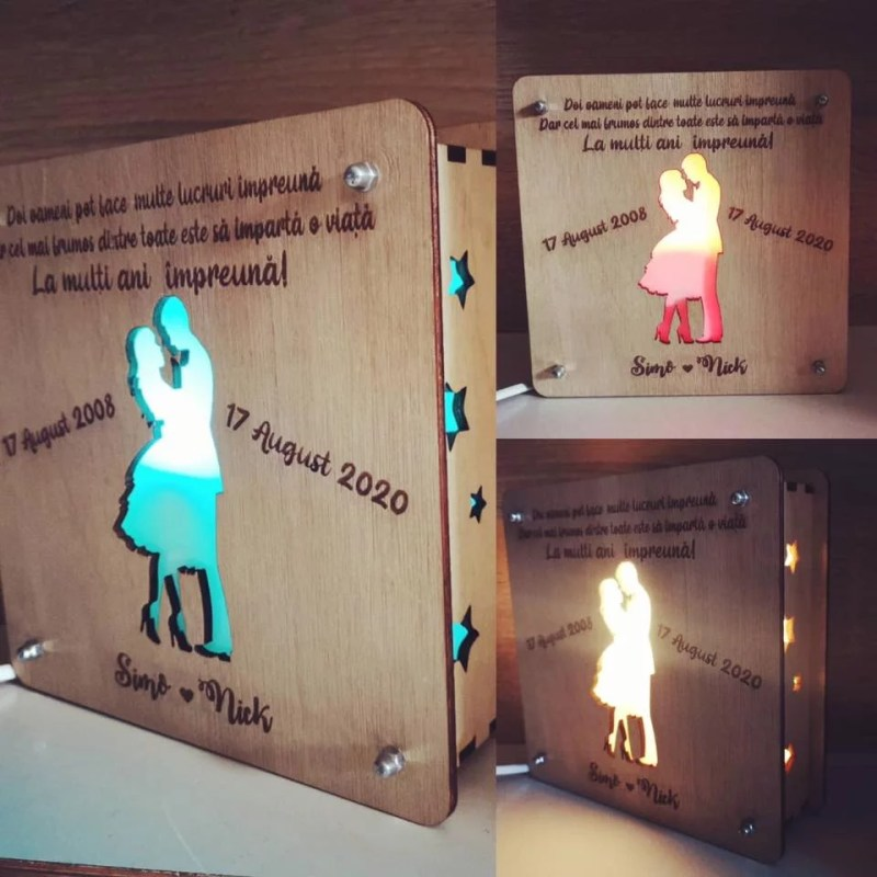 Lampa de veghe personalizata 01