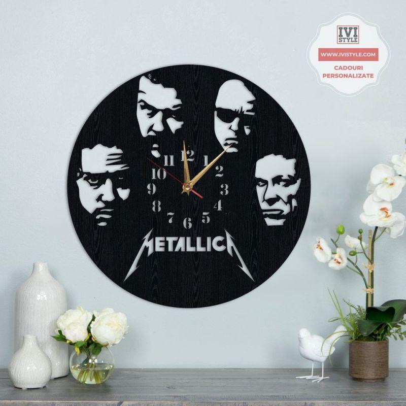 Ceas Personalizat Metallica