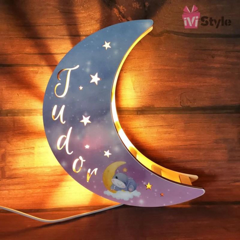 Lampa Luna Personalizata