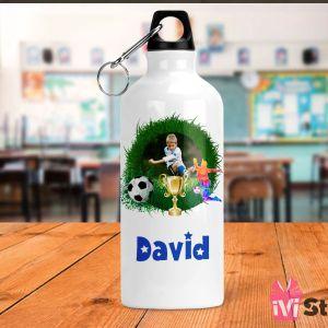 Sticla de Apa Personalizata Pentru Fotbal