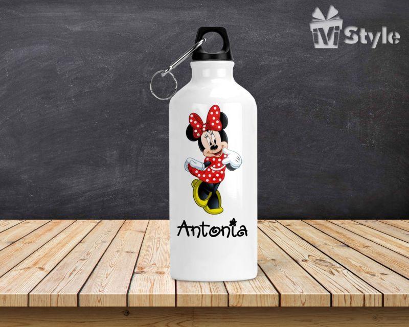 Sticla de Apa Personalizata Minnie Mouse Red