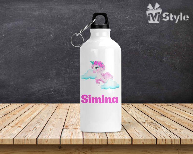 Sticla de Apa Personalizata Unicorn Simina