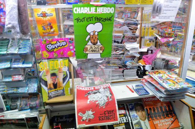 Charlie Hebdo en Kiosko