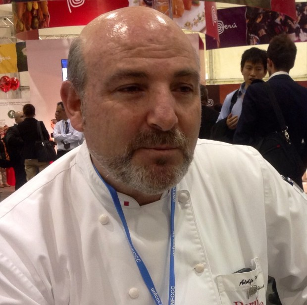 Chef Adolfo Perret